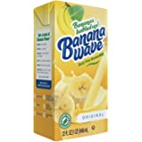 Banana Wave Dairy Free Banana Milk, Blended Superfood Beverage with Potassium and Omega-3, All Natural (Original)