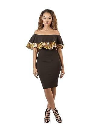 Les modèles de robes en tissu pagne