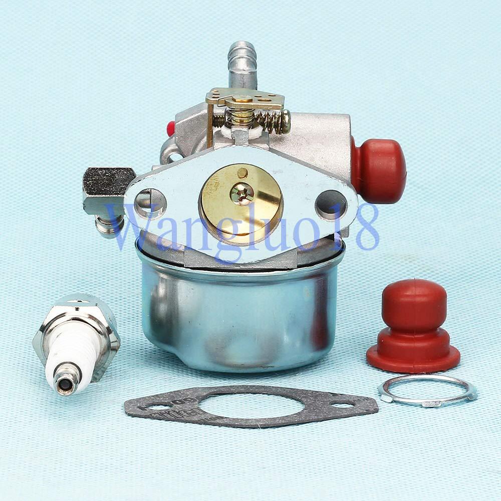 FidgetKute Carburetor Primer Bulb carb kit for Tecumseh 4.5HP 5HP 5.5HP 6HP 6.5HP 6.75HP