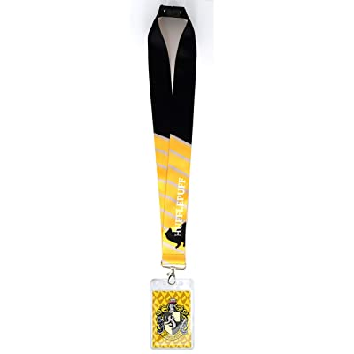 Harry Potter 48482 Hufflepuff Deluxe Lanyard: Toys & Games