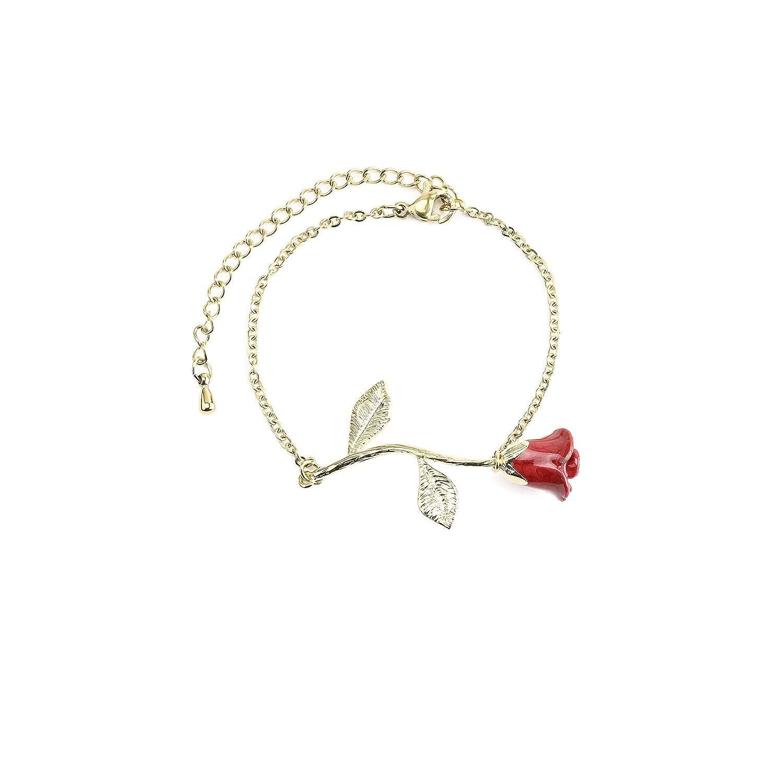 bracelet for her Rose Gold Jewelry gift for valentine day Gold Bracelet