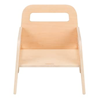 Sprogs Wooden Childrenu0027s /Toddler Chair, 5u0026quot; Seat Height, ...
