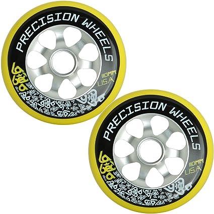 Pro de 110 mm ruedas para patinete (par (lote de 2) Labeda ...