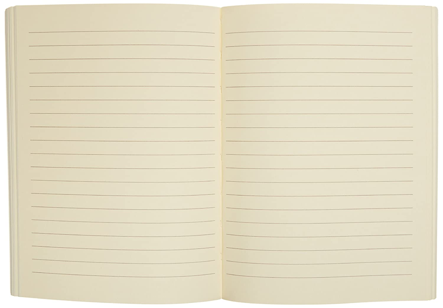 JD101LPA 5 x 7 Inches Officina Libris Refill 144 Acid-Free Lined Sheets 288 Pages