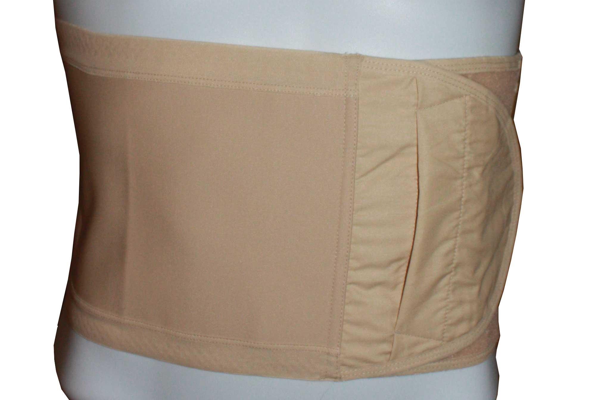 Safe n' Simple Hernia Support Belt, 26cm, Beige, Medium