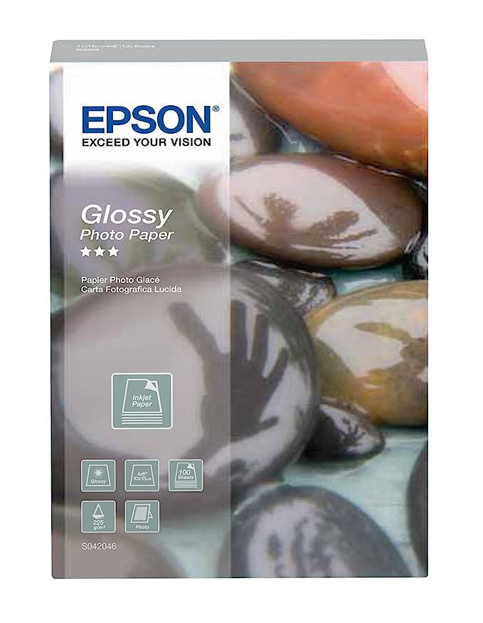Epson Glossy Photo Paper A4 - Papel fotográfico (230 x 320 x 330 ...