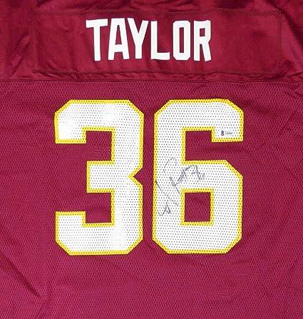 the latest 2a70d 20fb4 Washington Redskins Sean Taylor Autographed Signed Reebok ...