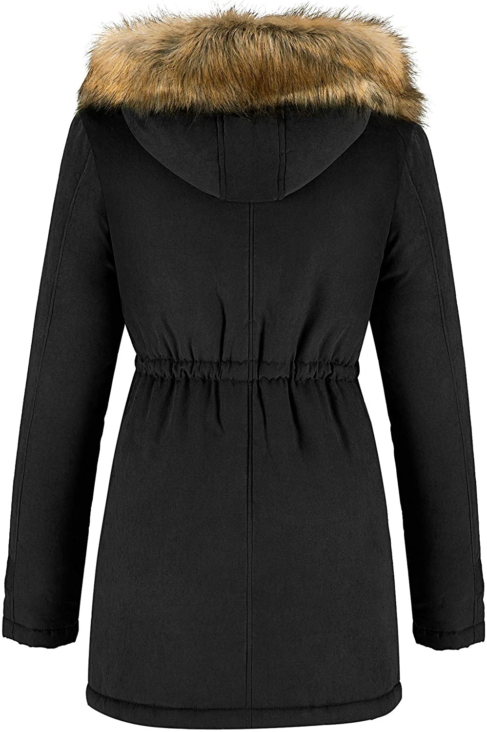 Womens Quilted Thicken Puffer Jacket,Memela Womens Hooded Warm Winter Coat Slim Cotton Padded Jackets Down Coat Outerwear
