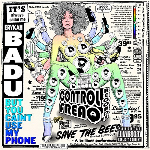 Price comparison product image Erykah Badu - But You Caint Use My Phone (1 LP)