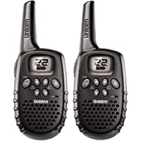 Uniden 16-Mile 22 Channel Battery FRS/GMRS Two-Way Radio Pair - Black (GMR1635-2)