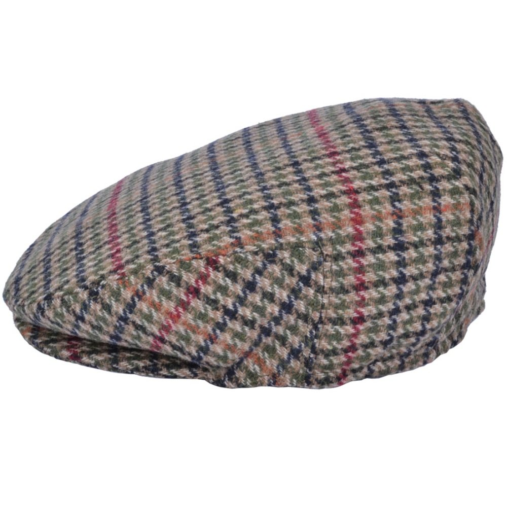 CHILDS TWEED FLAT CAP - ELASTICATED AT THE BACK - THREE SIZES AVAILABLE Maz