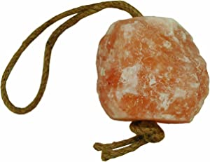 Horsemen's Pride Himalayan Salt Block on Rope for Horses