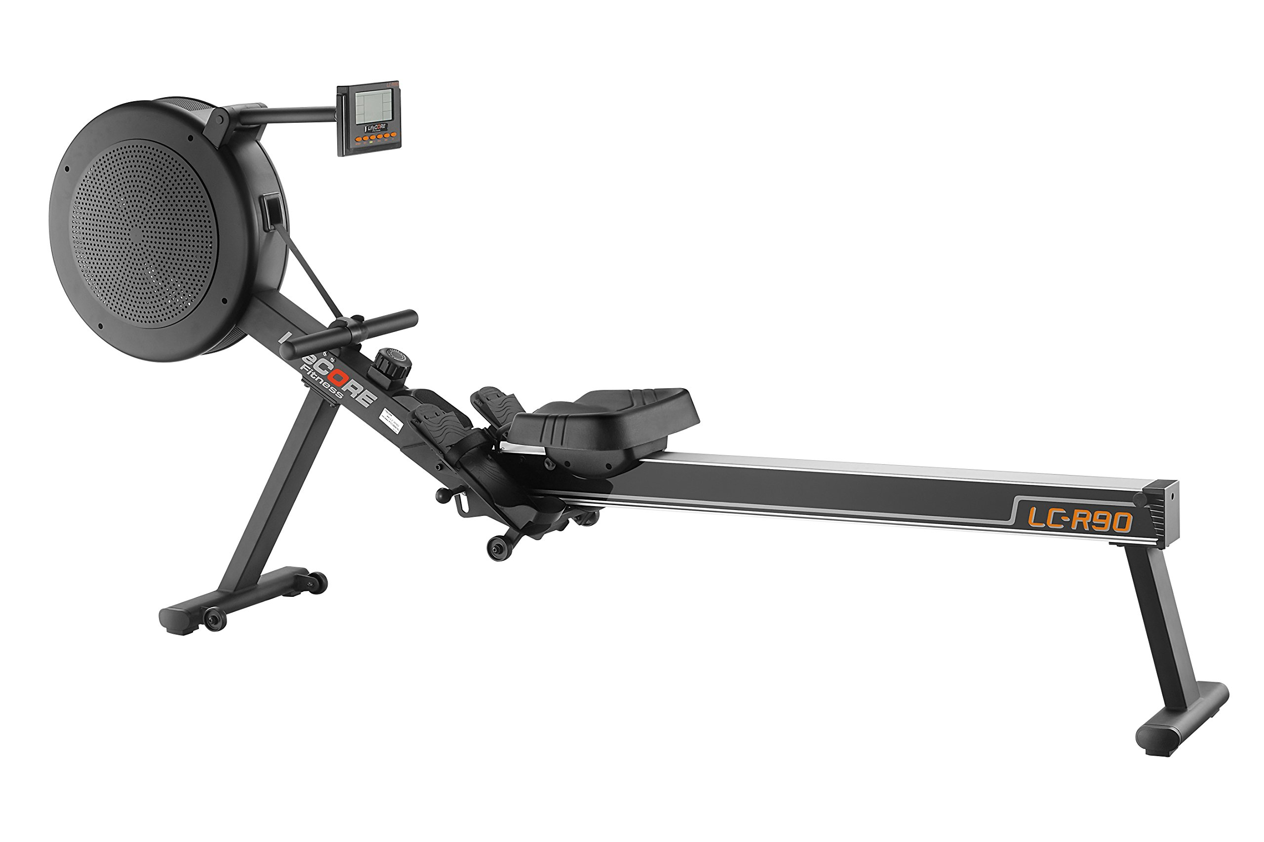 LifeCORE Fitness R90 Rowing Machine, Black Frame by LifeCORE Fitness