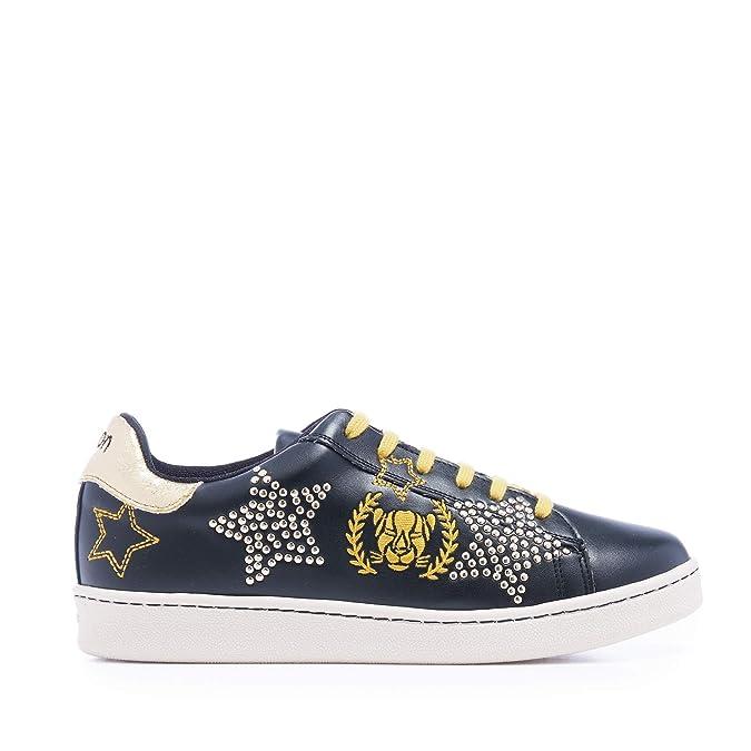 Xyon Revolution Blackstar Sneakers Zapatilla Deportiva con Cordones Mujer: Amazon.es: Zapatos y complementos