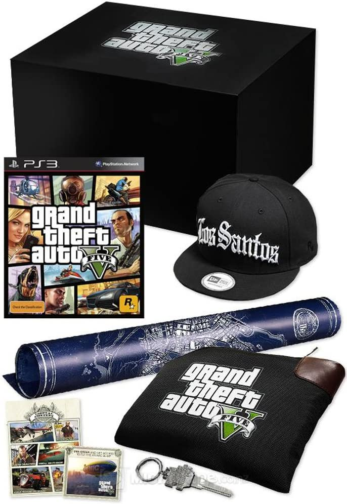how to get collectors edition gta 5 ps3