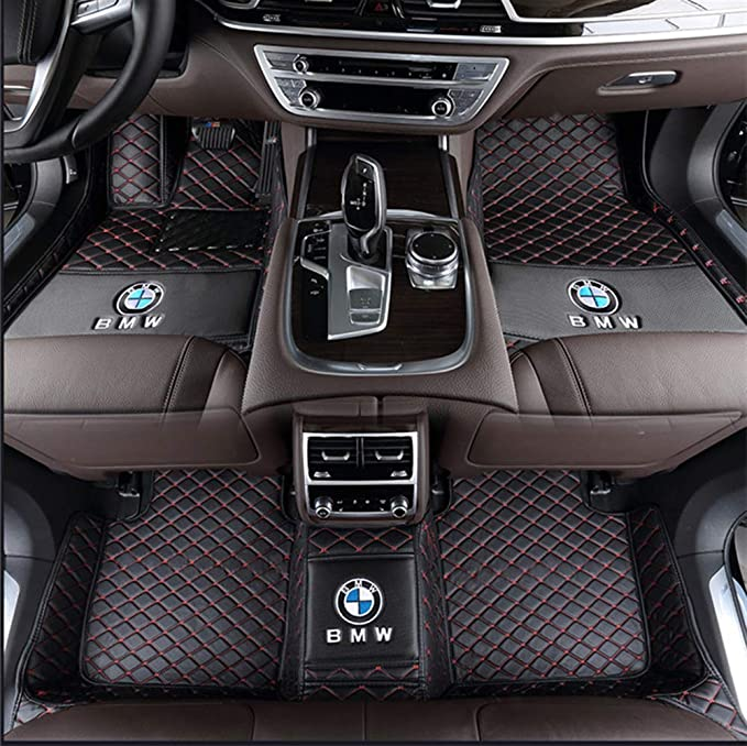Tailored Carpet Car Floor Mats FOR BMW X1 2010 To 2015 with logo E84
