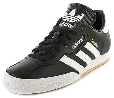 8d2ee0f519dd Adidas Samba Super - Basket Homme Chaussure Football En Salle Cuir Noir    Blanc 39.5 -