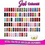 Gel Color Uv gel colorati Ricostruzione Unghie 5 ml Scegli i tuoi colori preferiti