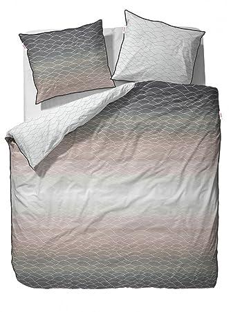 Esprit Mako Satin Bettwäsche Evan Beige 155x220 80x80 Amazonde