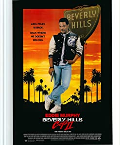Beverly Hills Cop 2 Poster, Movie Film Print Wall Art Decor Gift Size 18x24 inch