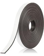 BOWMAN Premium Magnetband   Stark, selbstklebend, magnethaftend und individuell zuschneidbar   Magnetklebeband mit kostenlosem Ratgeber (3 m)
