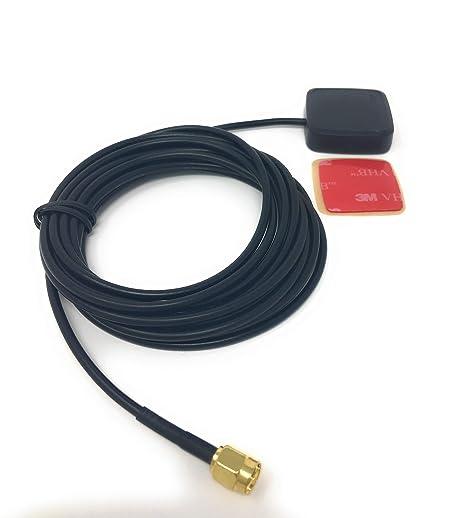 JNK NETWORKS - Antena GPS SMA Macho Conector con Cinta Adhesiva de ...