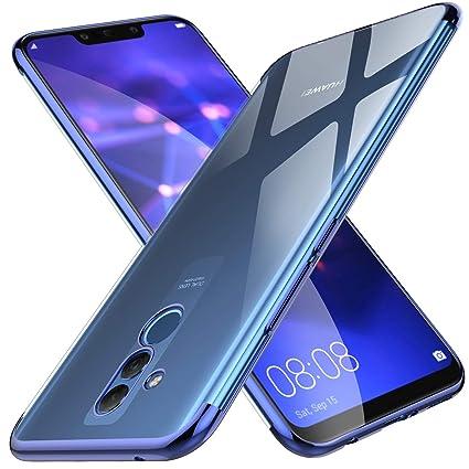 7d09fa22426 KuGi Funda Huawei Mate 20 Lite,Huawei Mate 20 Lite TPU Transparente Slim  Silicona Case
