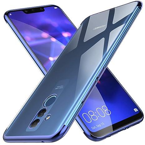sito affidabile cfc8c 87f4f KuGi Cover Huawei mate 20 lite, Huawei mate 20 lite Custodia Trasparente  Silicone Cover Morbida TPU Caso, Anti Scivolo& Anti-urto Case per Huawei  mate ...