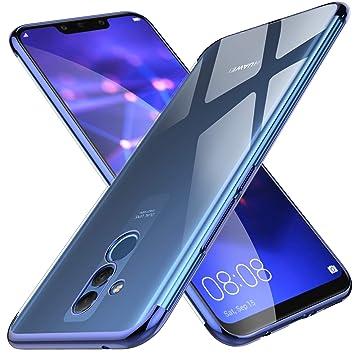 miglior sito web 306c1 df996 Huawei mate 20 lite case, KuGi Ultra-thin Soft TPU Gel Cover [Slim-Fit]  [Anti-Scratch] [Shock Absorption] for Huawei mate 20 lite Smartphone.Blue