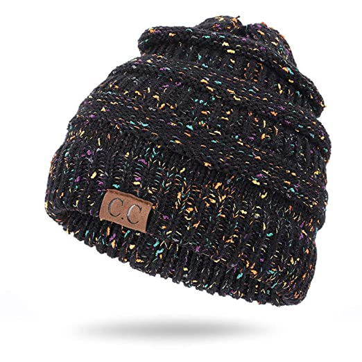 c3671745bb1 CC Solid Ribbed Beanie Soft Stretch Cable Knit Warm Skull Cap