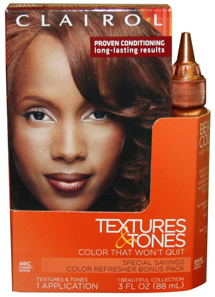 Clairol Textures Tones Hair Color 4rc Cherrywood 14w Pack