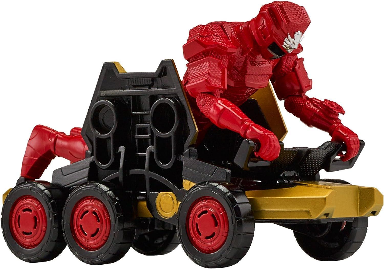 Power Rangers Super Ninja Steel Mega Morph ATV with Red Ranger Vehicles, Red Ranger ATV
