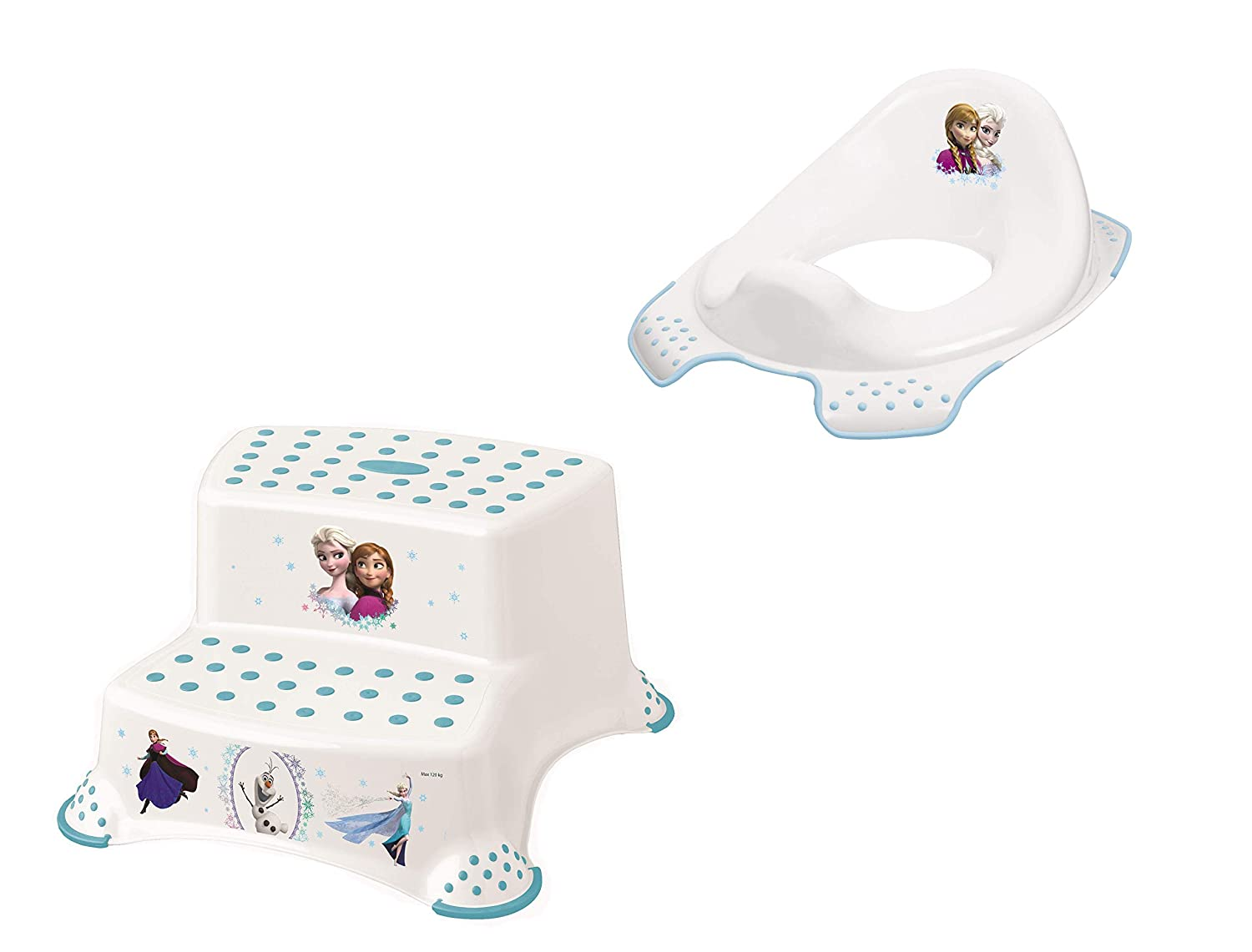 Disney Eiskonigin 2er Z Set Wc Aufsatz Hocker Zweistufig Toilettentrainer Amazon De Baby