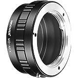 Neewer Adaptateur d'Objectif pour Objectif Minolta MD de Sony NEX E-Mount Caméra, pour Sony A7 A7S / A7SII A7R / A7RII A7II A3000 A6000 A6300 NEX-3 NEX-3 NEX-5 NEX-5 -6 NEX-7 NEX-VG10/20