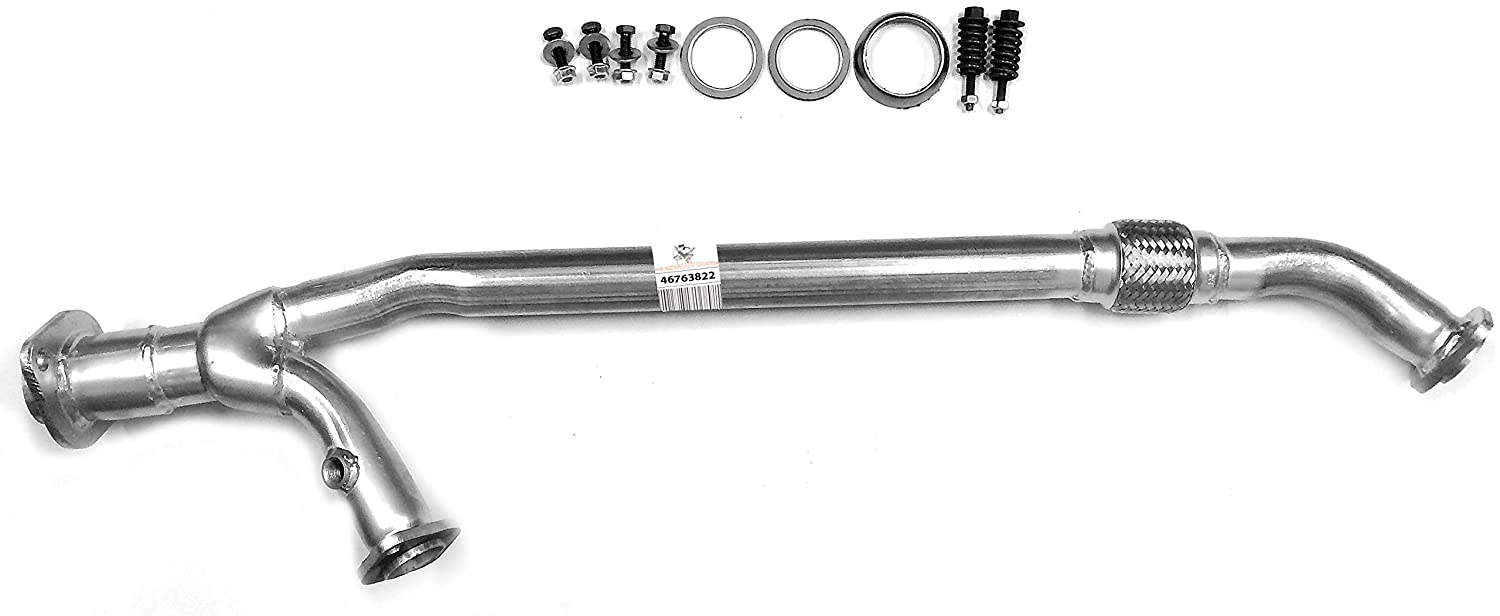 TED Direct-Fit Front Flex Pipe Fits 04-06 Toyota Sienna 3.3L FWD