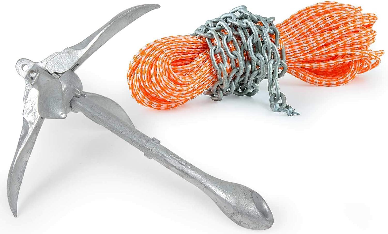 Faltklappanker Anker 0,7 kg Stahl feuerverzinkt
