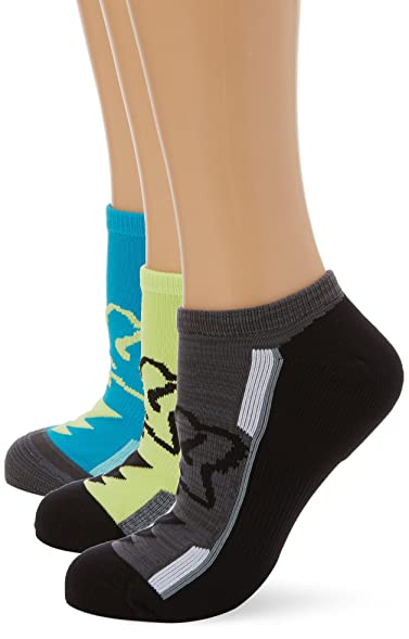 Fox Jade Perf No Show - 3 Pack Womens Socks (S/M , Green