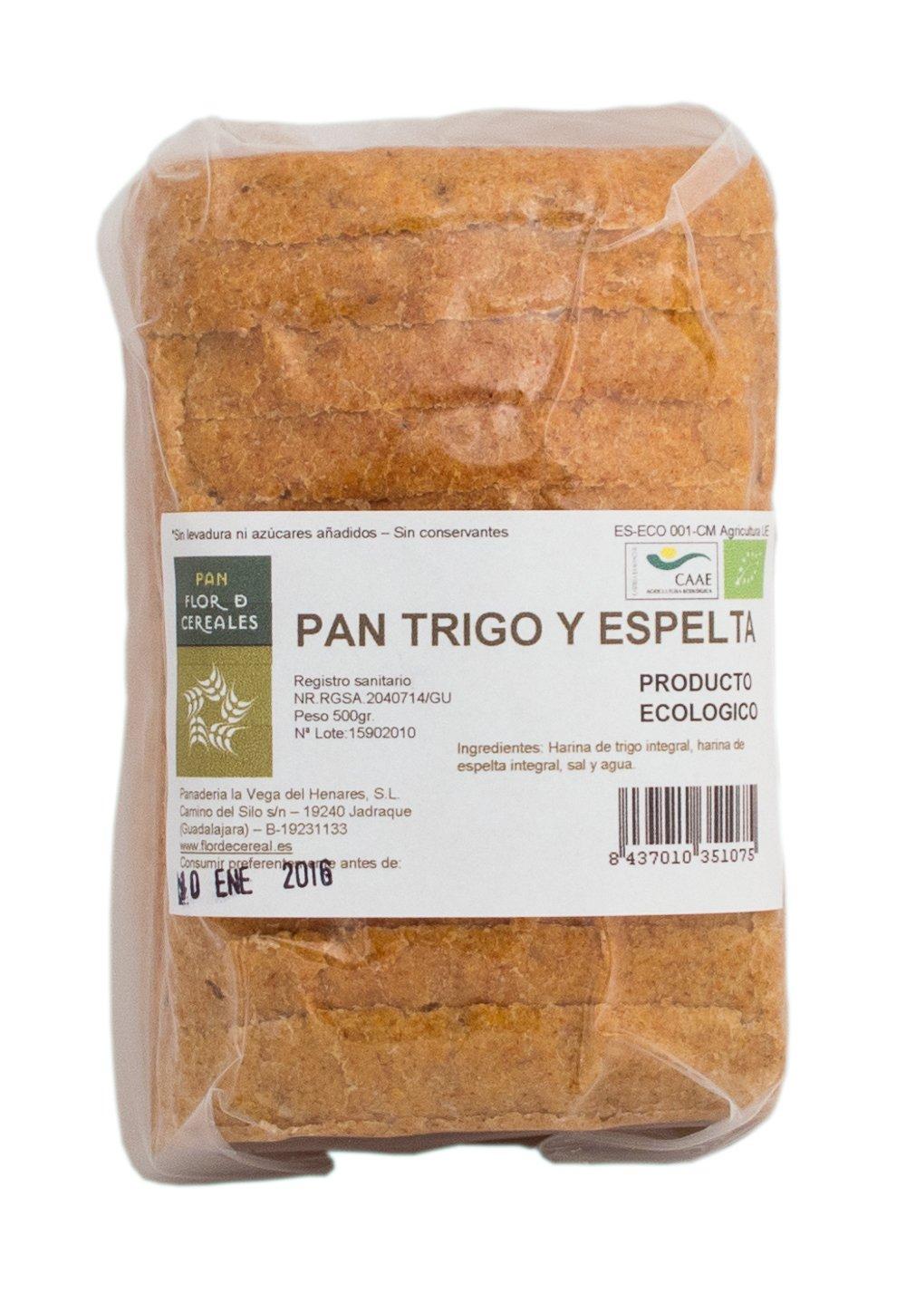 Pan de Trigo y Espelta integral 500gr.