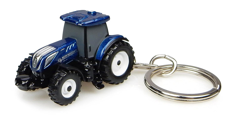 Llavero Tractor New Holland T7.225 Energía Azul