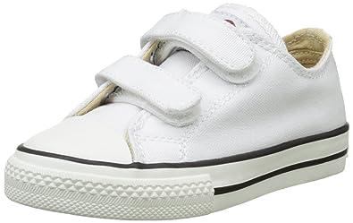 Victoria Zapato Basket Velcros, Zapatillas para Niños, Blanco, 28 EU: Amazon.es: Zapatos y complementos