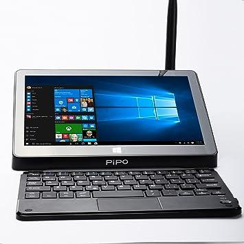 PIPO X9 8.9 1920x1200 Dual Boot Smart TV Box Mini PC + Teclado Bluetooth, Windows 10 Android 4.4 Intel Z3736F Quad Core 2.16GHz 2G + 32G decodificador: Amazon.es: Electrónica