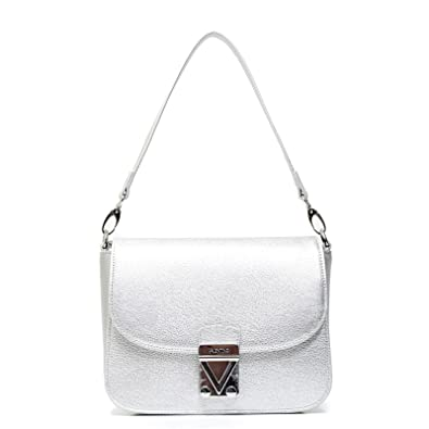 c38933762 Valentino By Mario Valentino VBS1N004 GARDENIA ARGENTO  Amazon.co.uk  Shoes    Bags