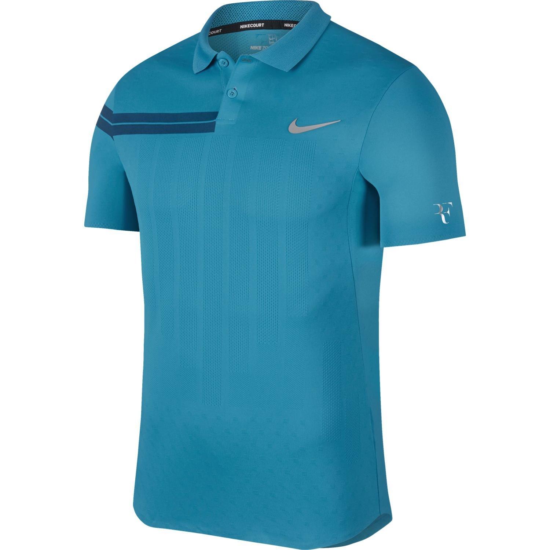 Nike Hombres Court Zonal Cooling RF Advantage Polo S: Amazon.es ...