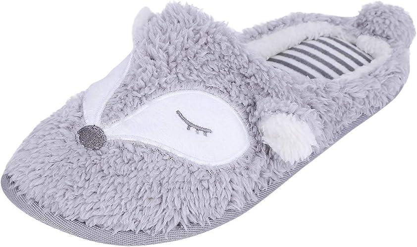 Schuhe Hausschuhe Sandalen Pantoffeln Flip-Flops Slippers Damen Komfort Home