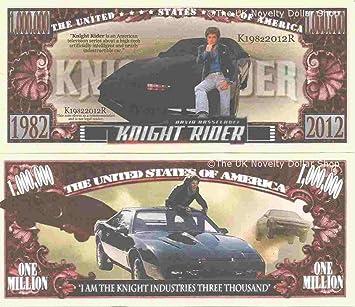 1 x 1 Million Fake Dollar Knight Rider