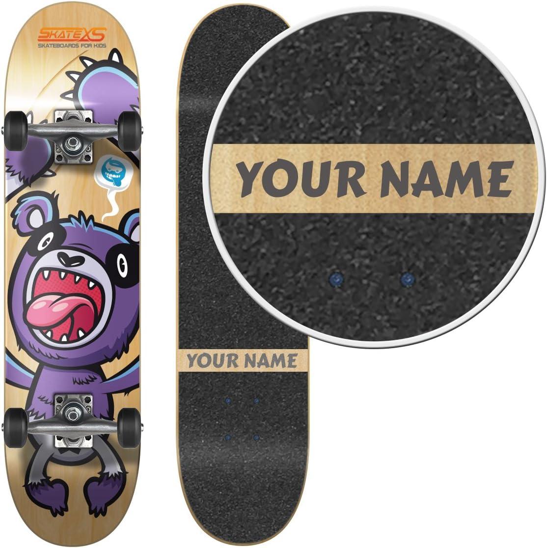 SkHate Lamp  Engraved Skateboard Deck