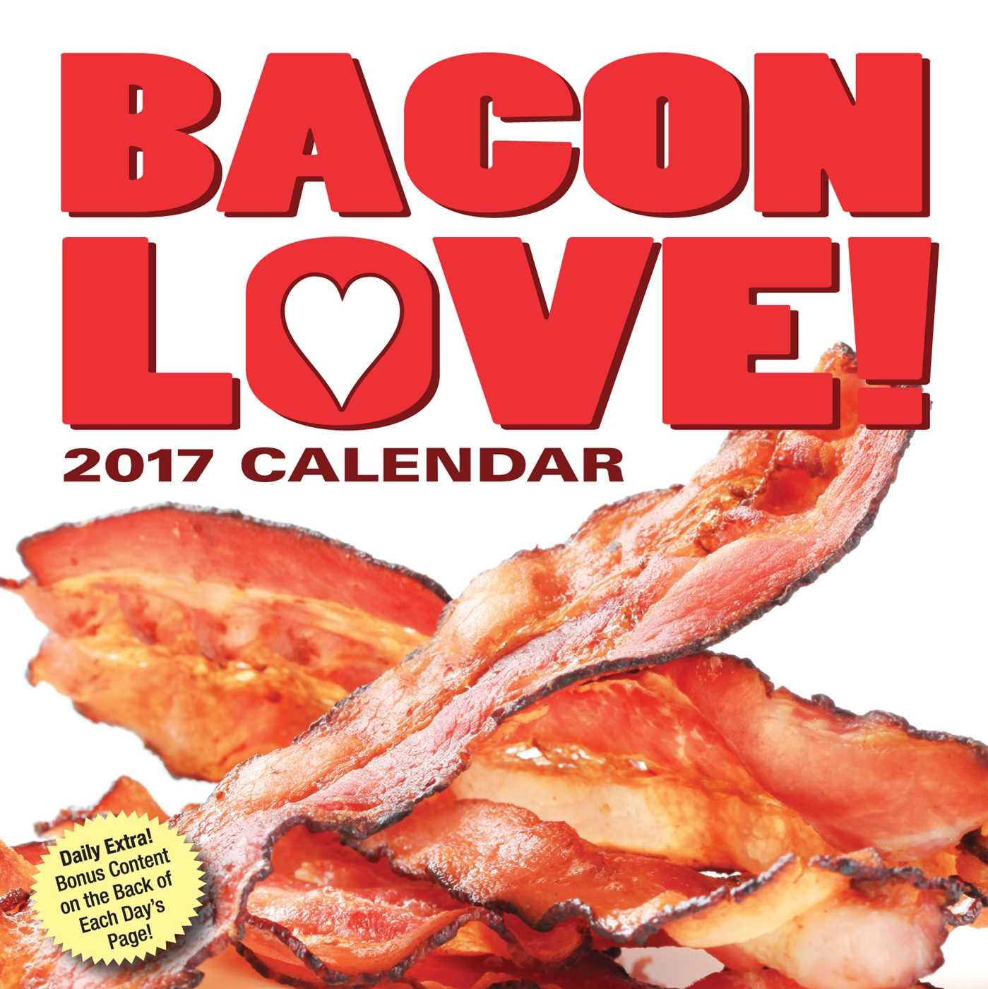 Bacon Love 2017 Day Calendar product image