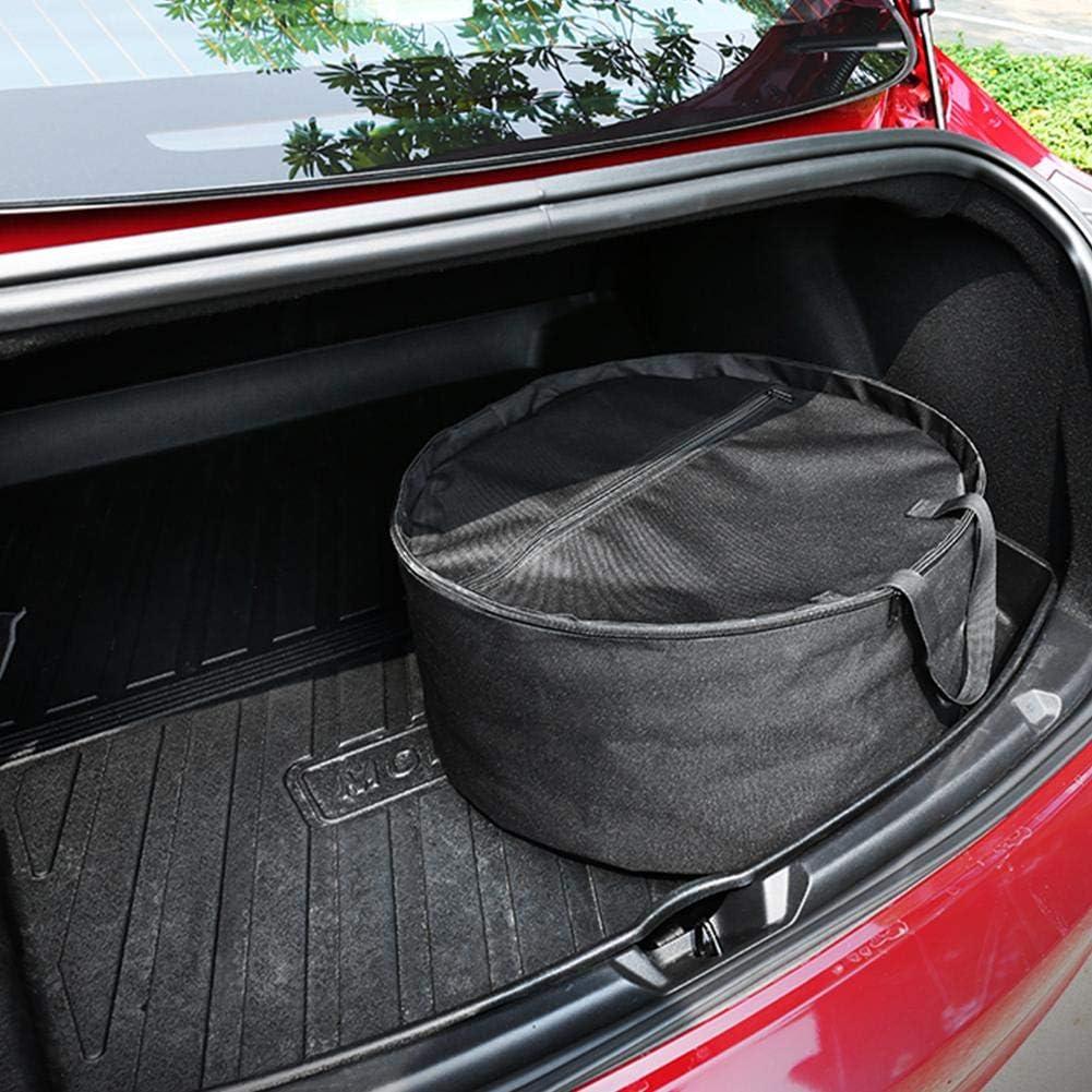 wapern for Tesla Model 3 Aero Wheel Cover Storage Carrying Bag 19.69 X 9.06in