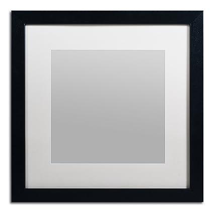 Amazon.com - Trademark Fine Art Heavy Duty 16x16 Black Picture Frame ...