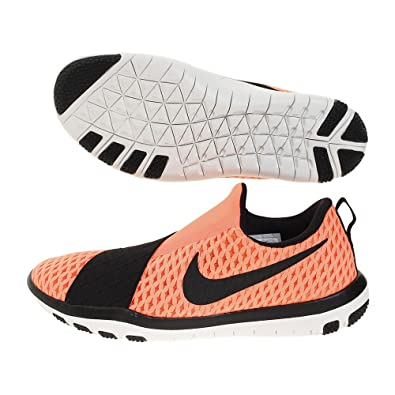 Womens Nike Free Connect 843966 801 Bright Mango / Metallic Silver-B (12)